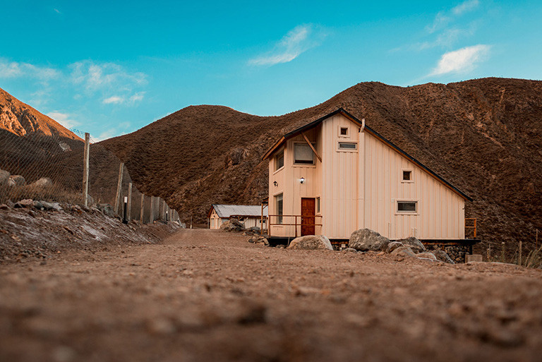 Odella casas de Montaña Potrerillos Mendoza