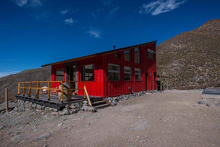 Odella casas de montaña Vallecitos Mendoza